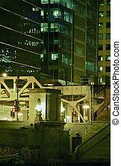 City Closeup at Night