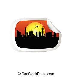 city color vector