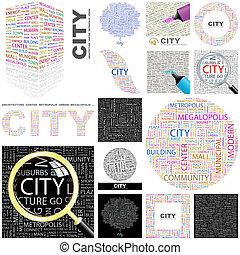 City. Concept illustration.