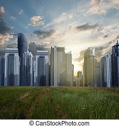 city., concetto