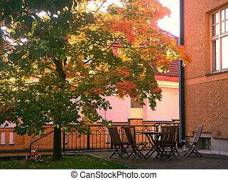 City Courtyard