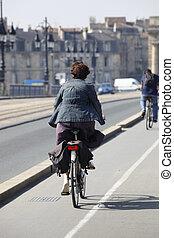 City cycle path