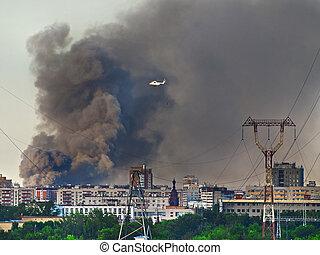 city firestorm
