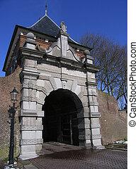 City gate 1 - City gate, Schoonhoven, Holland
