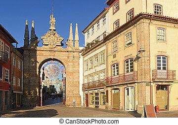 City gate, Braga Portugal