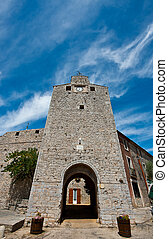 City Gate in Viols Du Fort, France