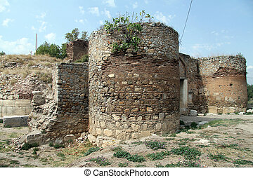 City gate of old Iznik in Turkey
