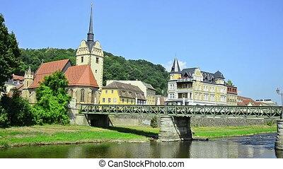 city Gera, Germany - Untermhaus - Gera - city in Thuringia,...
