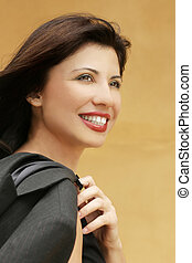 City Girl - Smiling successful woman