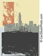 CITY GRUNGE ART