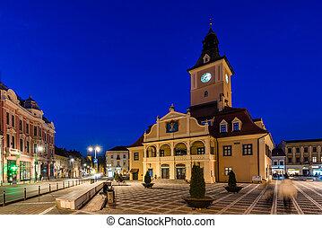 City hall in Brasov, Transylvania