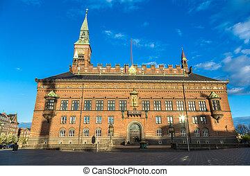 City hall in Copenhagen
