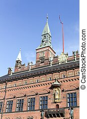 City hall in Copenhagen, Denmark