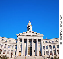 City Hall in downtown of Denver