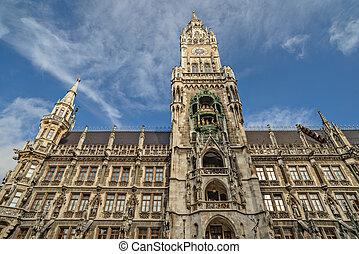 City hall in Munich, Germany