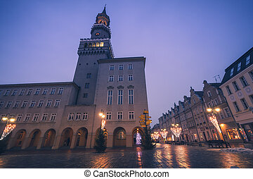 City Hall in Opole