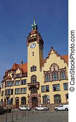 City Hall in Saxony, Germany