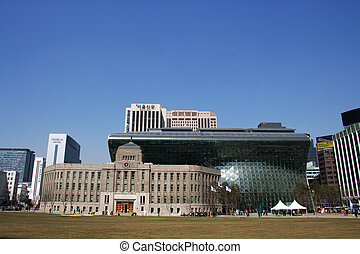 city Hall in south korea
