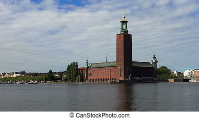 City Hall in Stockholm. Sweden. - City Hall in Stockholm....