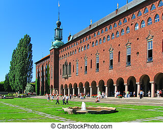 City Hall in Stockholm