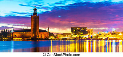 City Hall in Stockholm, Sweden