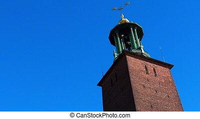 City Hall in Stockholm. Sweden.