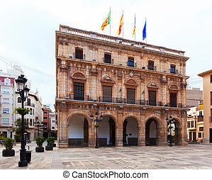 City Hall in  town square. Castellon de la Plana