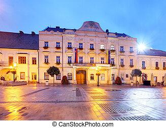 City hall in Trnava, Slovakia