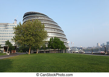 City Hall of GLA in London city England UK