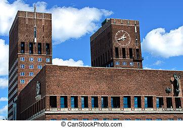 City Hall Radhuset Oslo, Norway