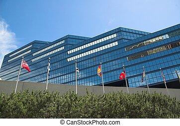 City Hall - The new modern city hall in Calgary.