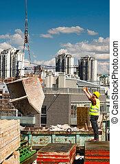 City high-rise construction