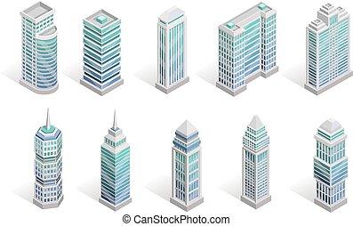 City Houses Set