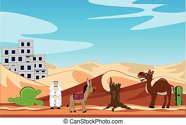 City in desert