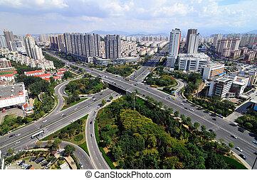 City Interchange in china