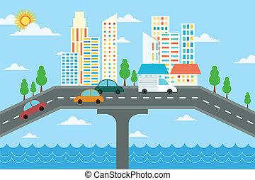 City landscape design