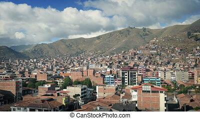 City Landscape In South America