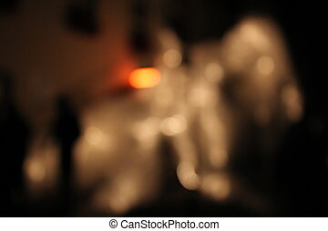 city light blur