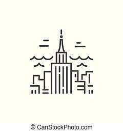 City Line Icon
