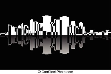 City Manhattan panorama