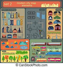 City map elements 1