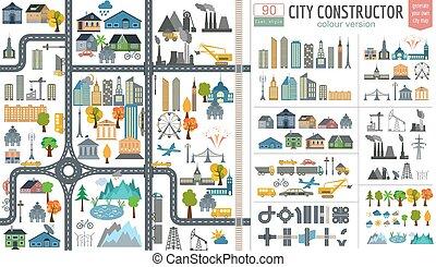 City map generator. City map city;