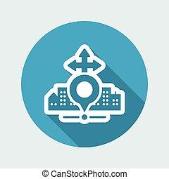 City map icon