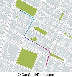 city map. vector illustration