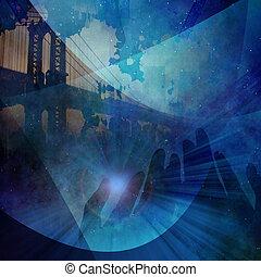 City merge