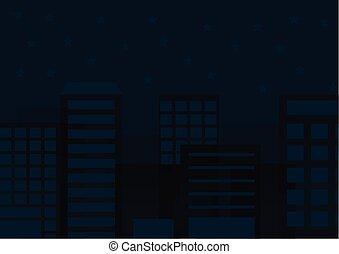 city night background vector
