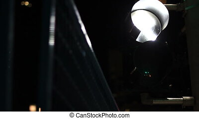 city night signal abstract