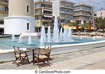 City of Alexandroupoli in Greece