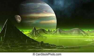 City of aliens