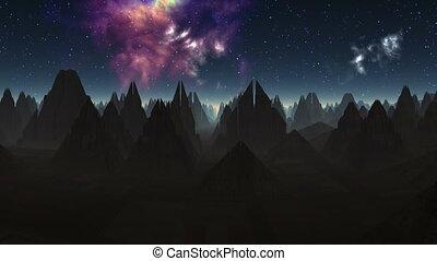 City of aliens (pyramid)